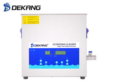 China 40KHz Digital Ultrasonic Cleaner , 10L Industrial Ultrasonic Cleaning Tanks supplier