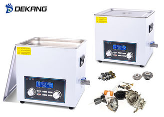 China 0-180W 6.5 Liter Benchtop Ultrasonic Cleaner 28/40KHz With Degas / Sweep Function supplier
