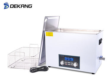China Microscoper Accessory Ultrasonic Cleaning Equipment 22L Power Sweep Degreasing supplier