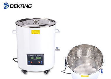 China 15L Digital Dental Ultrasonic Cleaner , Barrel Laboratory Washing Machine supplier