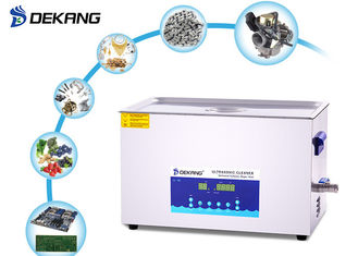 China Golf Balls Silver Ultrasonic Cleaning Machine 30L 500W Dual Frequency supplier