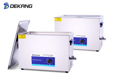 China 30L Hardware Ultrasonic Parts Cleaner Solution For Lab Circuit Board supplier