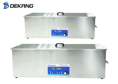 China Industrial Ultrasonic Engine Cleaner With Drying System Temperature Adjustable supplier