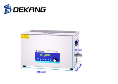 China Timing / Heating Ultrasonic Cleaning Machine Engine Model Parts 22L Capacity supplier