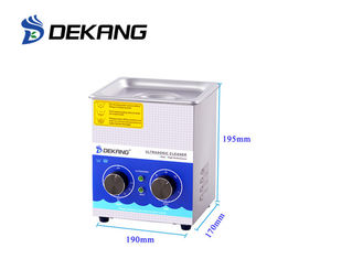 China 1.3L Small Heated Recessed Industrial Ultrasonic Cleaning Machine Stainless Steel supplier