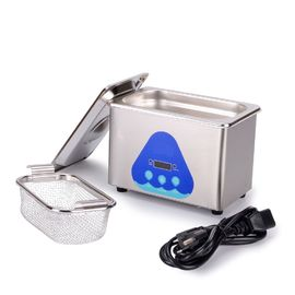 China 0.8L Mini Portable Household Ultrasonic Cleaner SUS Stainless Material 42Khz supplier