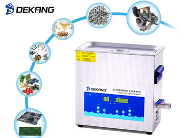 China 6.5 liter 180W Digital Ultrasonic Cleaner Remove Rust for Engine Part supplier