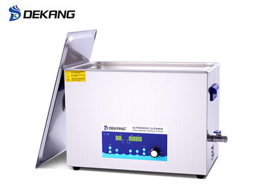 22L 480W Ultrasonic Cleaning Bath Digital Control With Dewaxing / Degreasing
