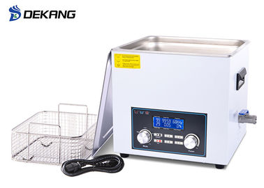 Shaver Dentures Laboratory Ultrasonic Cleaner 15L With Heater Digital Control