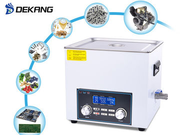 6.5L Heated Bench Top Ultrasonic Cleaner Timing For Dental Instruments