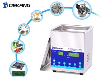 2.0L 28 / 40KHz Ultrasonic Cleaning Machine Die Casting Stainless Steel For Syringe Needle