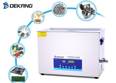 Smart Dual Frequency Ultrasonic Cleaner 22L Degas For Electrical Model Parts