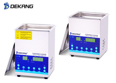 1.3L Small Dual Frequency Ultrasonic Cleaner , Ultrasonic Watch Cleaning Machine
