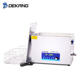 Power Adjustable Ultrasonic Cleaning Machine 22L 28 40Khz Dual Frequency Heating
