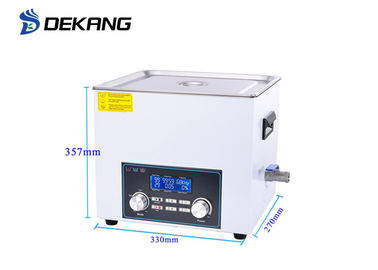 Digital Bench Top Ultrasonic Cleaner 10L Stainless Steel Time / Power Adjustable