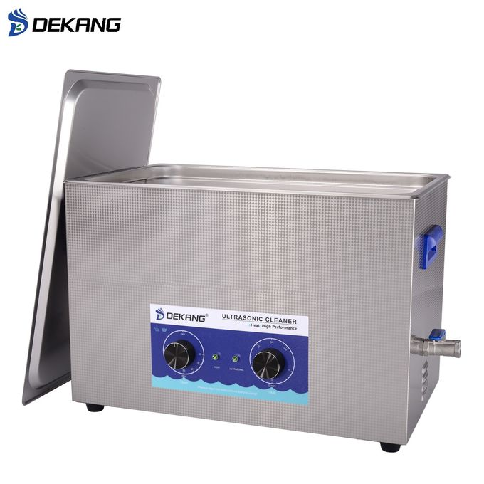 30L Mechanical Table Top Ultrasonic Cleaner Stainless Steel Die Casting With Heating