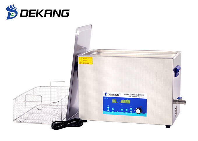 30L Auto Ultrasonic Glasses Cleaner With Basket Industrial Grade