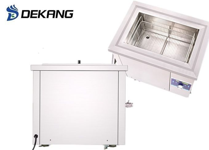 88L Large Capacity Ultrasonic Cleaner Power Adjustable , Timing Heated Ultrasonic Cleaner