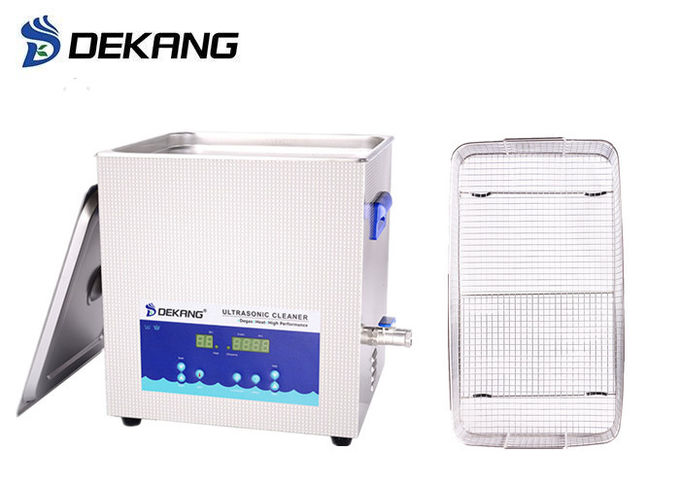19L Semi Changeable Heated Ultrasonic Cleaner For Surgical Instruments