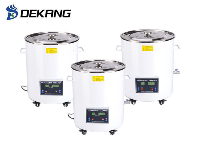 15L Digital Dental Ultrasonic Cleaner , Barrel Laboratory Washing Machine